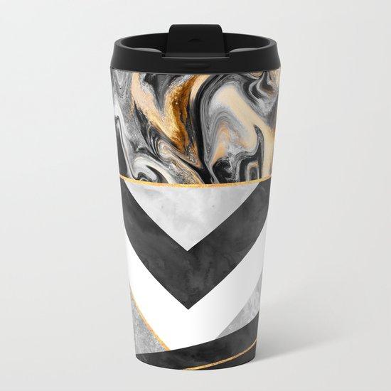 Lines & Layers 2.2 Metal Travel Mug
