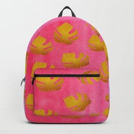 Gold leaves 3 Backpack