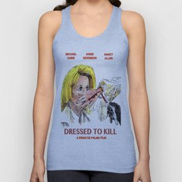 Dressed to Kill Unisex Tank Top