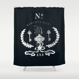 Memento Mori Shower Curtain