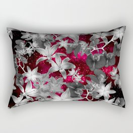 Orchid Galaxy Rectangular Pillow