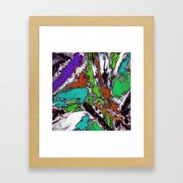 Mind motion 2 Framed Art Print