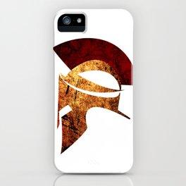 Spartan warrior iPhone Case