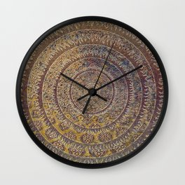 Black Sun III Wall Clock