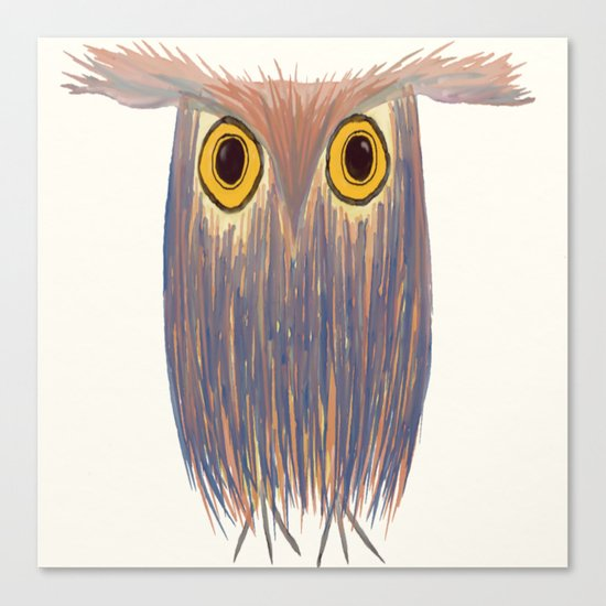The Odd Owl by oneartsymomma