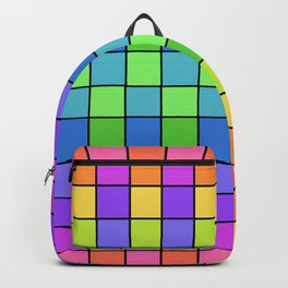 Pastel Chex Backpack
