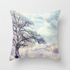 Winter Symphony Throw Pillow