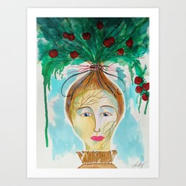 Pomona The Goddess of Fruitful Abundance Art Print