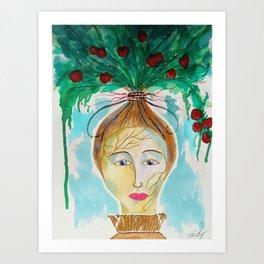 Pomona The Goddess of Fruitful Abundance Art Print