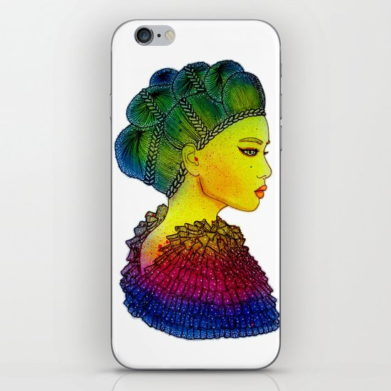 Rainbow Power Girl! iPhone & iPod Skin