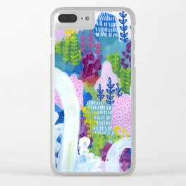 Canyonland Clear iPhone Case