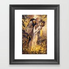 The Kiss Framed Art Print