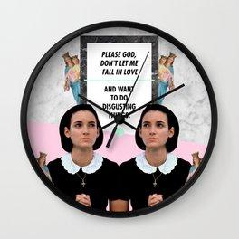 Winona x God Wall Clock