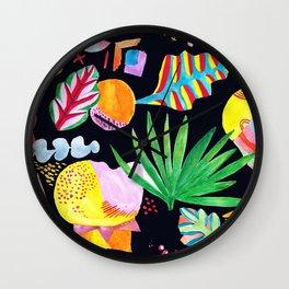 Gabriella - (black) Wall Clock