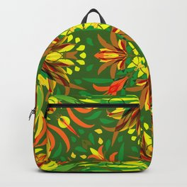 Abstract Garden 2a Backpack