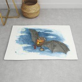 Little Worlds: Travel Bat Rug