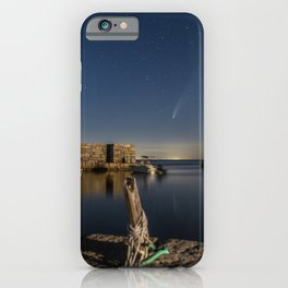 Comet at Lanes cove iPhone Case