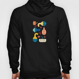 Autumn Gourds Gold Hoody