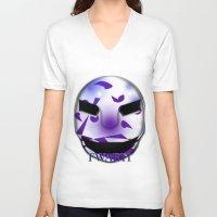 shadow V-neck T-shirts featuring Shadow  by FWAETI