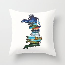 Prythian Throw Pillow