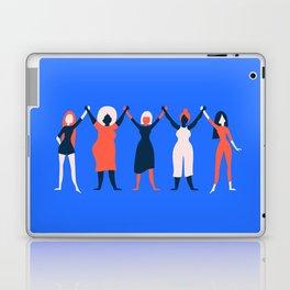 Girl Gang - Blue Laptop & iPad Skin