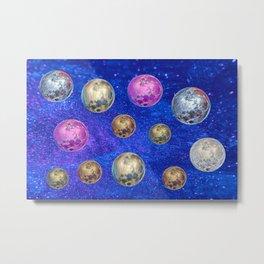 Full Moons Metal Print