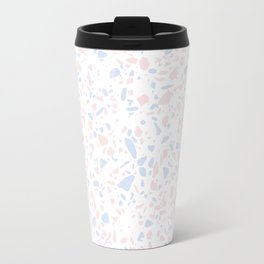 'Speckle Party' Lilac + Pink Dots Speckle Terrazzo Pattern Travel Mug