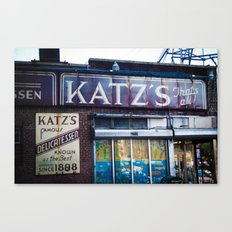 Katz's Canvas Print