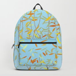 Bunnies, Trees and Falling Leaves Backpack