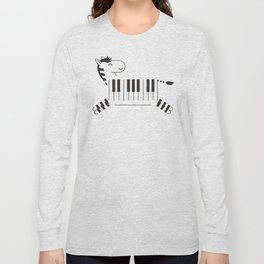 Life is like a piano Long Sleeve T-shirt