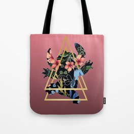 Floral Stitch 626 Tote Bag