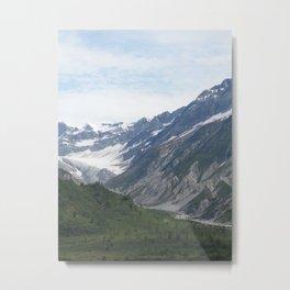 Verdant Stone Mountains Metal Print