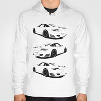 porsche Hoodies featuring porsche  by Fish
