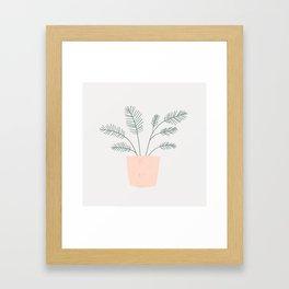 little fern Framed Art Print