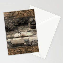 Abrams Main Battle Tank Stationery Cards