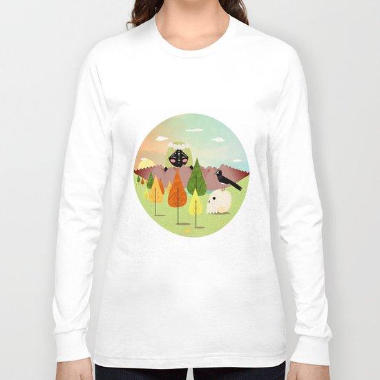 Good morning crow Long Sleeve T-shirt