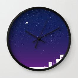 u.f.o. Wall Clock