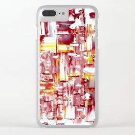 Geena Clear iPhone Case