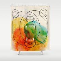 bear Shower Curtains featuring Bear by Alvaro Tapia Hidalgo