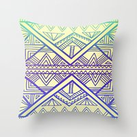 firefly Throw Pillows featuring Firefly by Erin Jordan