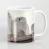 montreal Mugs featuring Montreal -Alley by Doug Dugas