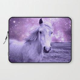 Lavender Horse Celestial Dreams Laptop Sleeve