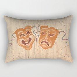 Mask curtain  Rectangular Pillow
