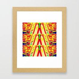 Tropical Trio Framed Art Print
