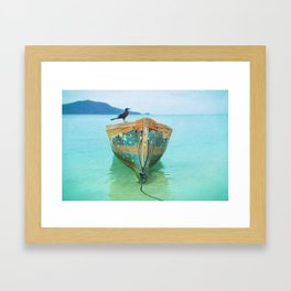 BOATI-FUL Framed Art Print