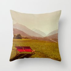 Vintage Holiday Throw Pillow