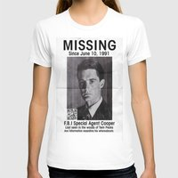 dale cooper T-shirts featuring Missing Dale Cooper ... 2016 by Allelujah
