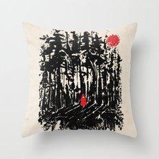 Long Way Home Throw Pillow