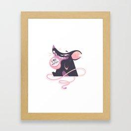 Voted Framed Art Print