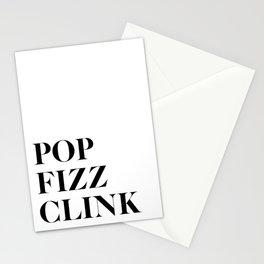 Pop Fizz Clink Stationery Cards